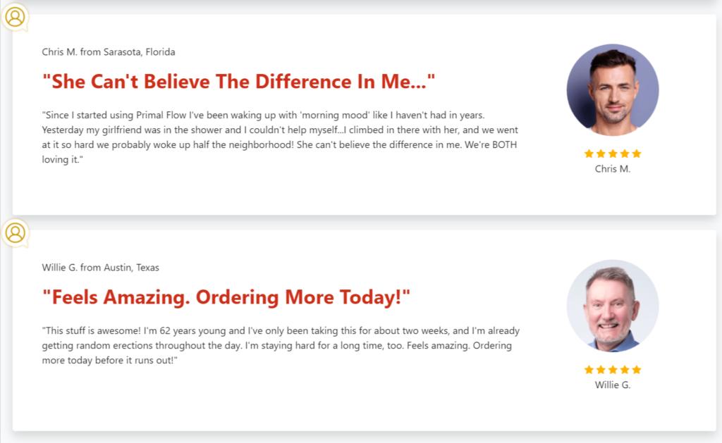 PX7 Primal Flow Customer Reviews